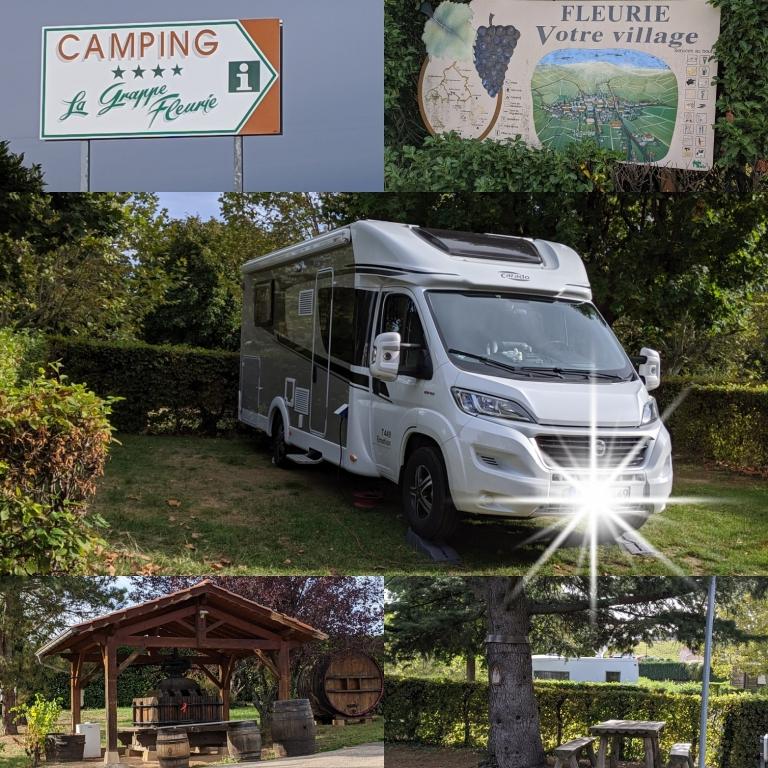 Camping La Grappe Fleurie