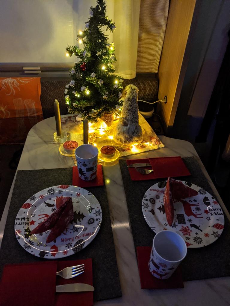 Weihnachten im Wohnmobil!